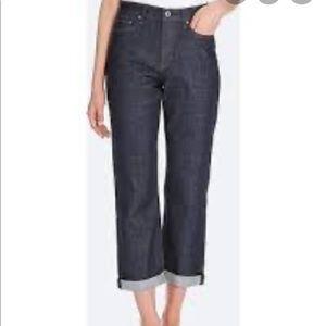 Uniqlo Boyfriend Straight High Rise Jeans